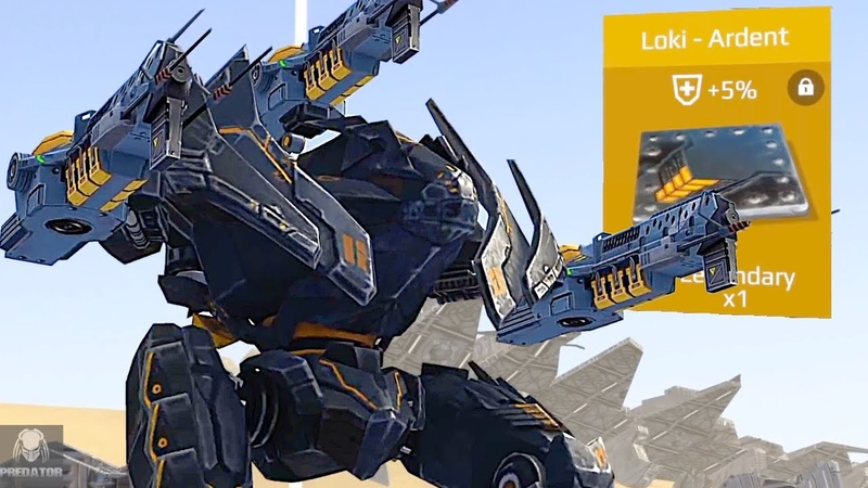 Ambush ARDENT LOKI [Triple GODLIKE] Smashing Through Bots - Stealth Bomber Taking Over Battle | WR