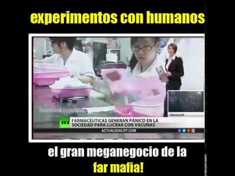 LA INDUSTRIA FARMACÉUTICA HACE EXPERIMENTOS CON HUMANOS