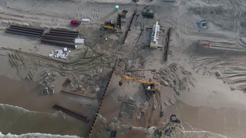 Przekop Mierzei zobacz aktualne zdjęcia z placu budowy