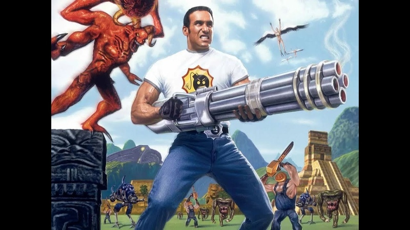 Прохождение игры карты Serious sam Jorney to Hell 2 2 City at the night