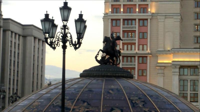 Прогулка по Москве Александровский сад Часть 3 Moscow walk Alexander Gardens Part 3