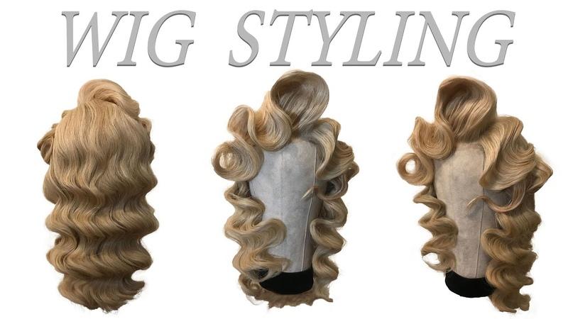 Wig Styling Tutorial. Big Hair. Classic Waves.