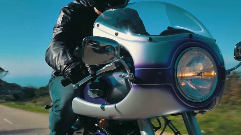 Cafeina Motorcycles Suzuki XF650 cafe racer