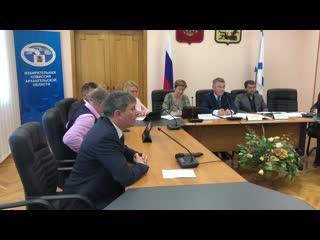 Выступление народного кандидата Олега Мандрыкина на заседании избиркома