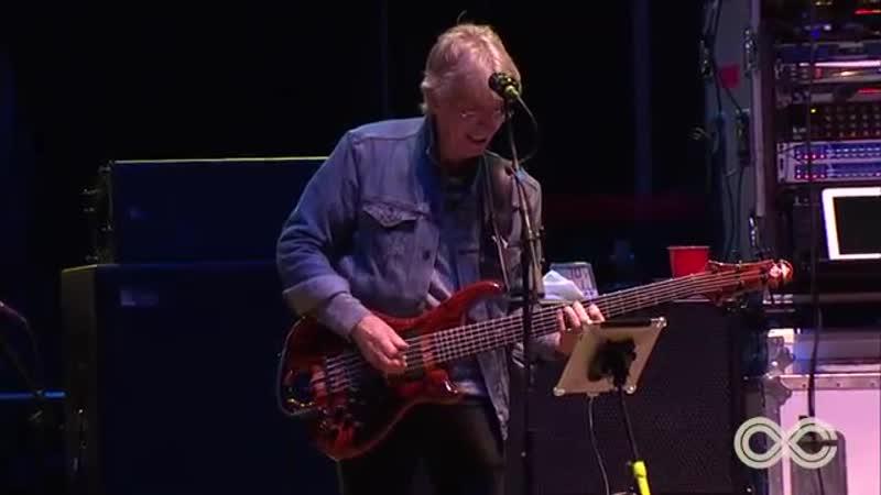 Phil Lesh Friends ft Carlos Santana and Warren Haynes Fire on The Mountain Live LOCKN 2015
