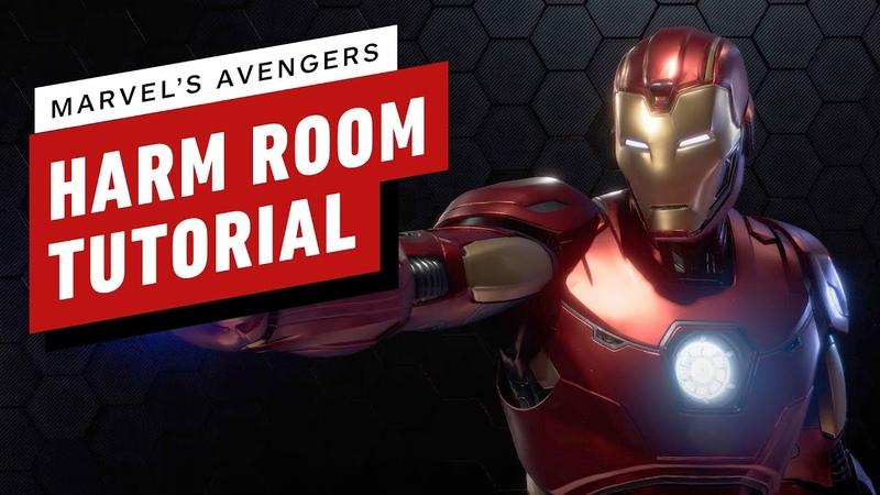 Marvel's Avengers Beta Harm Room Tutorial Gameplay