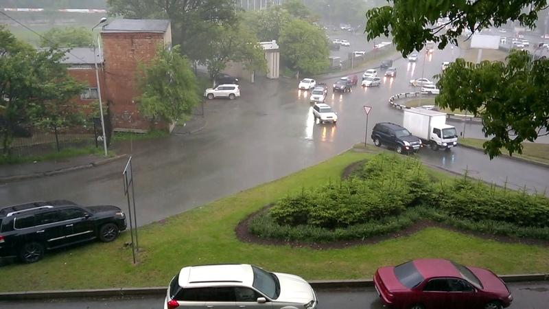 Владивосток Летний Дождь 14 06 2017