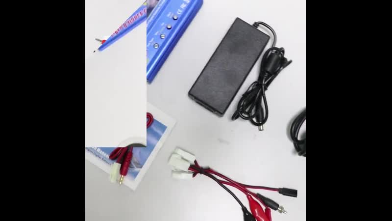 IMAX B6 цифровой RC Lipo NiMh зарядное устройство адаптер