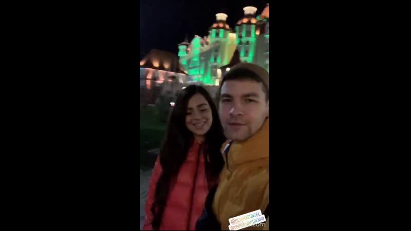 Рапунцель и Дмитренко проводят новогодние каникулы в Сочи