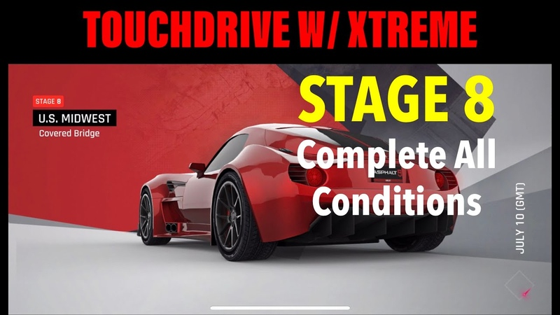 TOUCHDRIVE Asphalt 9 BXR Bailey Blade GT1 Special Event Stage 8 Complete All Conditions ✅