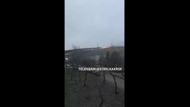 Прямо сейчас Караульная гора в Красноярске выглядит так
