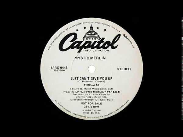Mystic Merlin Just Can't Give You Up Dj S Remix