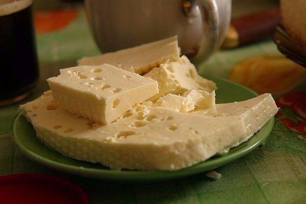 Вот вам отличный рецепт домашнего сыра