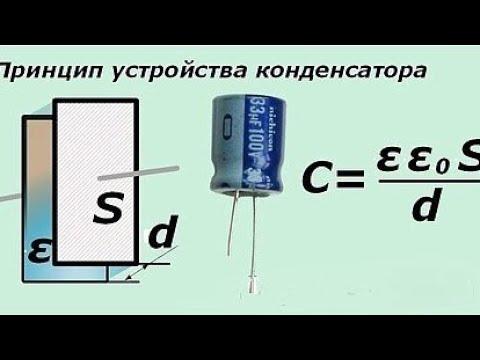 Как работает конденсатор