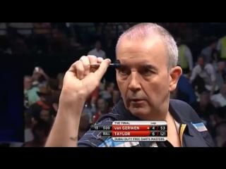 Phil Taylor vs Michael van Gerwen (2015 Dubai Duty Free Darts Masters / Final)