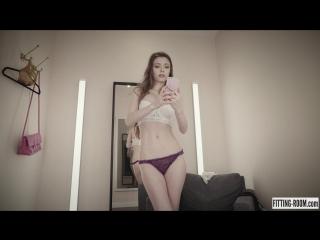 Mila Azul (HD эротика, девушка мастурбирует в примерочной)