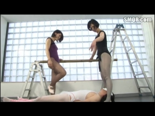 Ami Yamada, Rena Takaoka 1 [PornMir, Японское порно, new Japan Porno BDSM, Foot Fetish, Ballerina, Slave Training, Anal ]