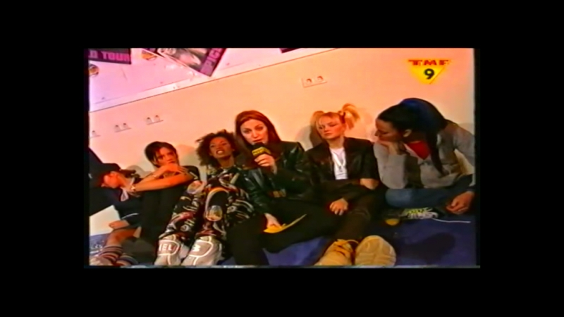 Spice Girls - Spiceworld Tour Report Interview - Arnhem - TMF Extra 29.03.1998