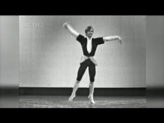 Рудольф Нуреев на сцене: архивные кадры