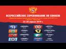 Финал первенства России по хоккею U16 Динамо Москва Ермак Ангарск