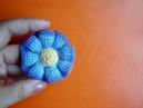 Вязаные цветы Урок 37 Free crochet flower pattern