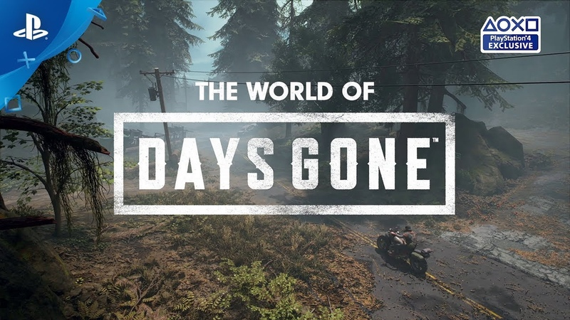 Days Gone | The World of Days Gone | PS4