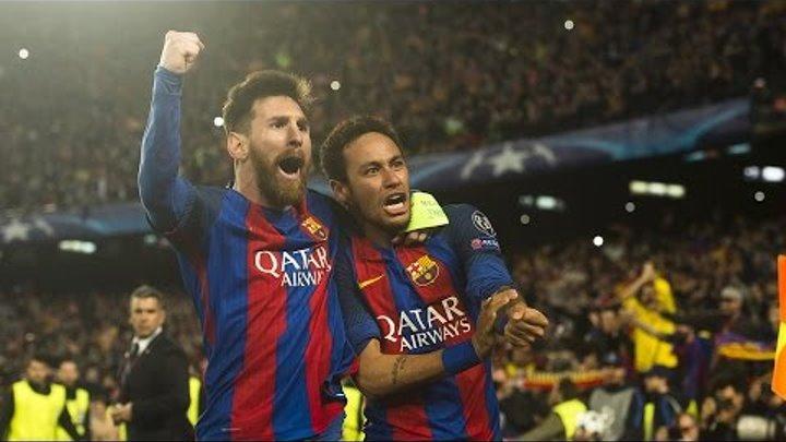 Полный матч Барселона - Пари Сен Жермен, ответный матч 1/8 Лиги Чемпионов, 08.02.2017