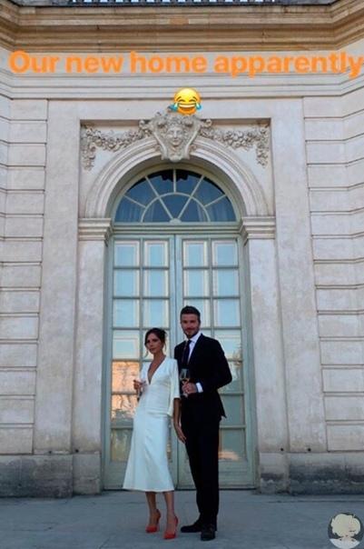 Виктория и Дэвид Бекхэм отметили годовщину свадьбы