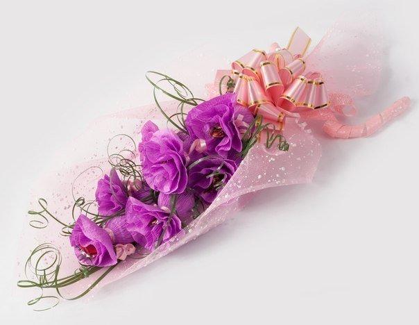 СЛАДКИЙ БУКЕТ Красивая и простая идея подарка своими руками!