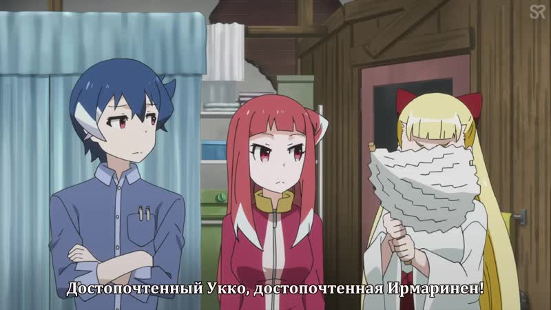 субтитры 4 серия Akiba s Trip The Animation Падение Акибы by cygnus Pshenica SovetRomantica