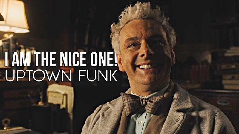 Good Omens || Uptown Funk (I'm The Nice One!) || Aziraphale ( Crowley Gabriel)