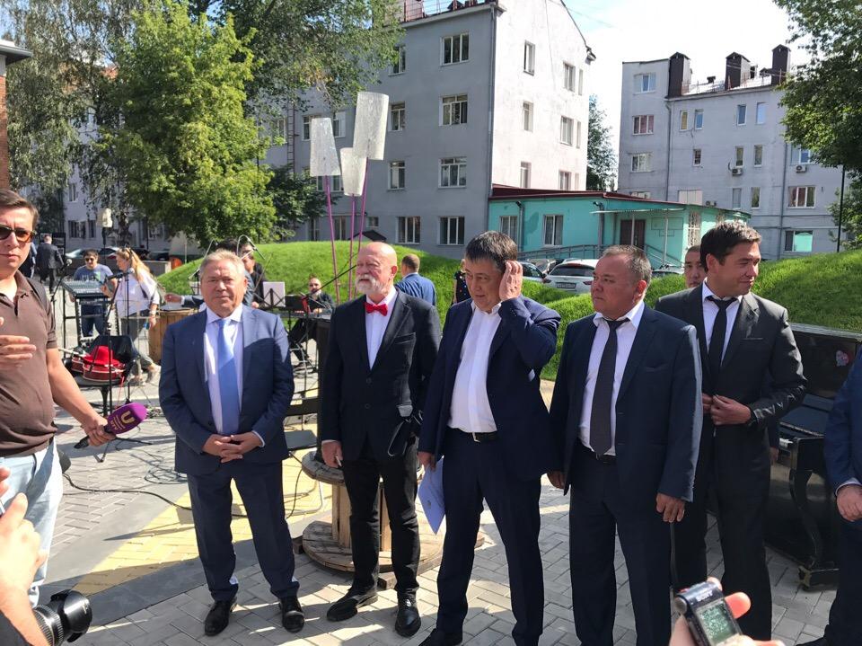Сегодня в Уфе состоялось торжественное открытие IX Международного архитектурного фестиваля «Эко-Берег»