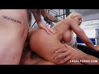 Luna Star - Latina Queen Shows Us Why Shes A Pornstar Vs 2 Cocks, mfm double penetration dp anal porno