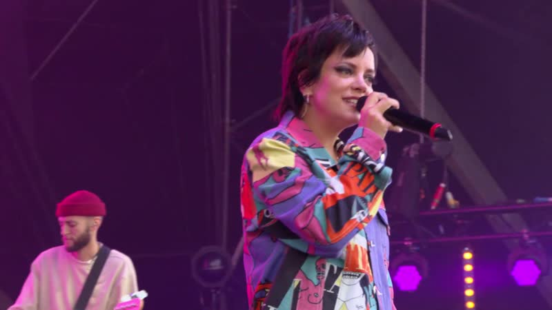 Lily Allen Party Line Live at The Isle of Wight Festival 2019