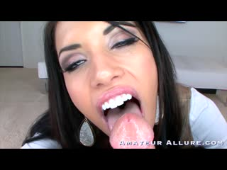 [Amateur Allure] Callie Cyprus - 18 Year Old Teen Swallows Two L