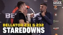 Bellator 231, Bellator 232 Media Day Staredowns -- MMA Fighting