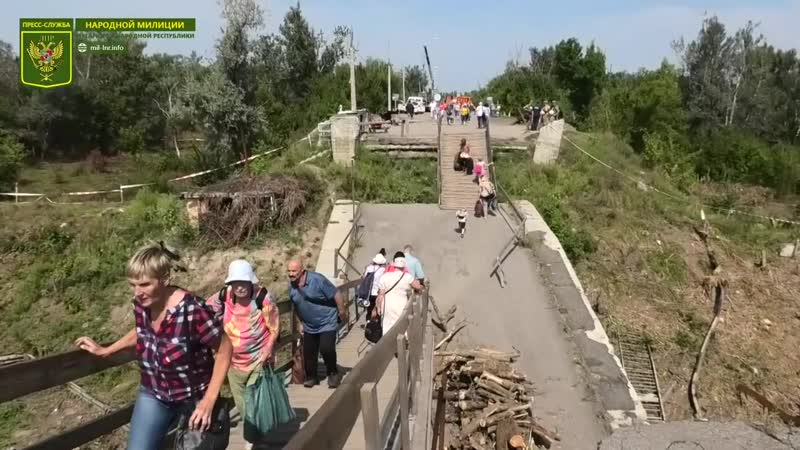 Украина продолжает затягивать процесс подготовки к ремонту моста у КПВВ Станица Луганская