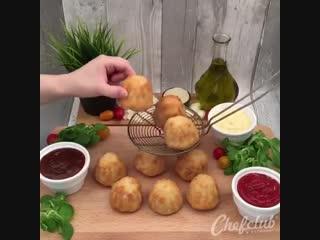 Оригинальные бомбочки из куриного филе - Личный повар