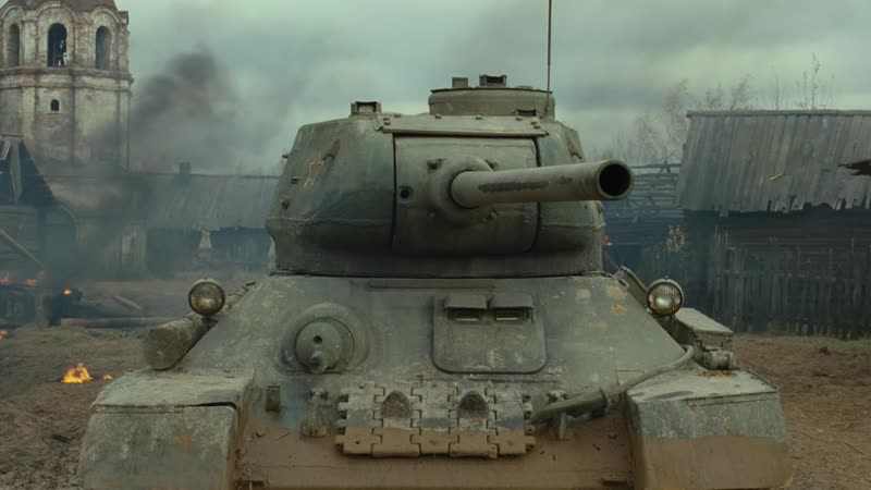 Белый Тигр Военный фильм Танки Т 34 Военные фильмы Боевики Драма Мистика Русские фильмы HD Фильмы про войну МосФильм
