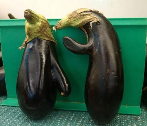 Смешные овощи.