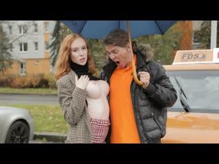 FakeDrivingSchool Lenina Crowne - Redhead Distracts with no bra on NewPorn2019 (1080p) (via Skyload)