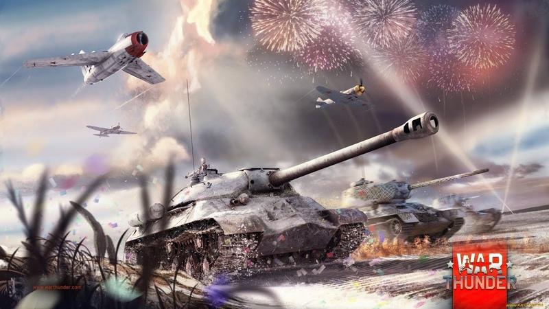 War Thunder - Вечерний фан! Поднимаем БР. STARIY 1080HD 60fps