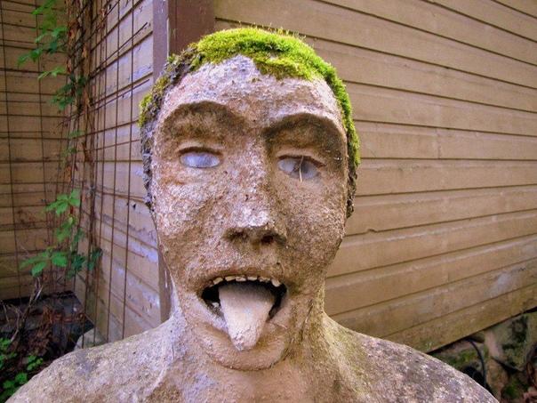 Ужасающий парк скульптур Вейё Рёнккёнэна