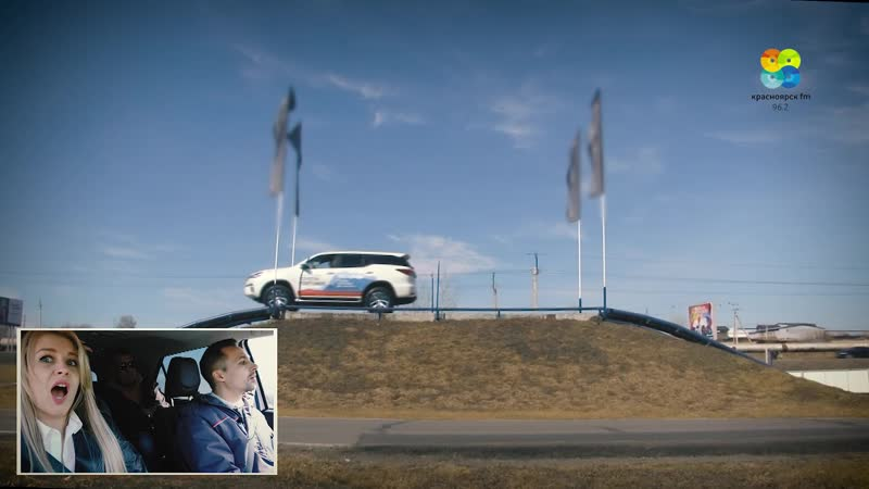 Тест-драйв Toyota Fortuner от автосалона «Медведь БизнесАвто».