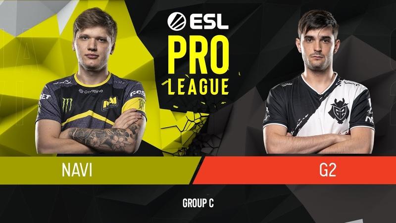 CSGO - Natus Vincere vs. G2 Esports [Nuke] Map 1 - Group C - ESL Pro League Season 9 Europe