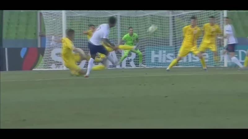 DemaraiGray scores against 🇷🇴 for the U21 England team