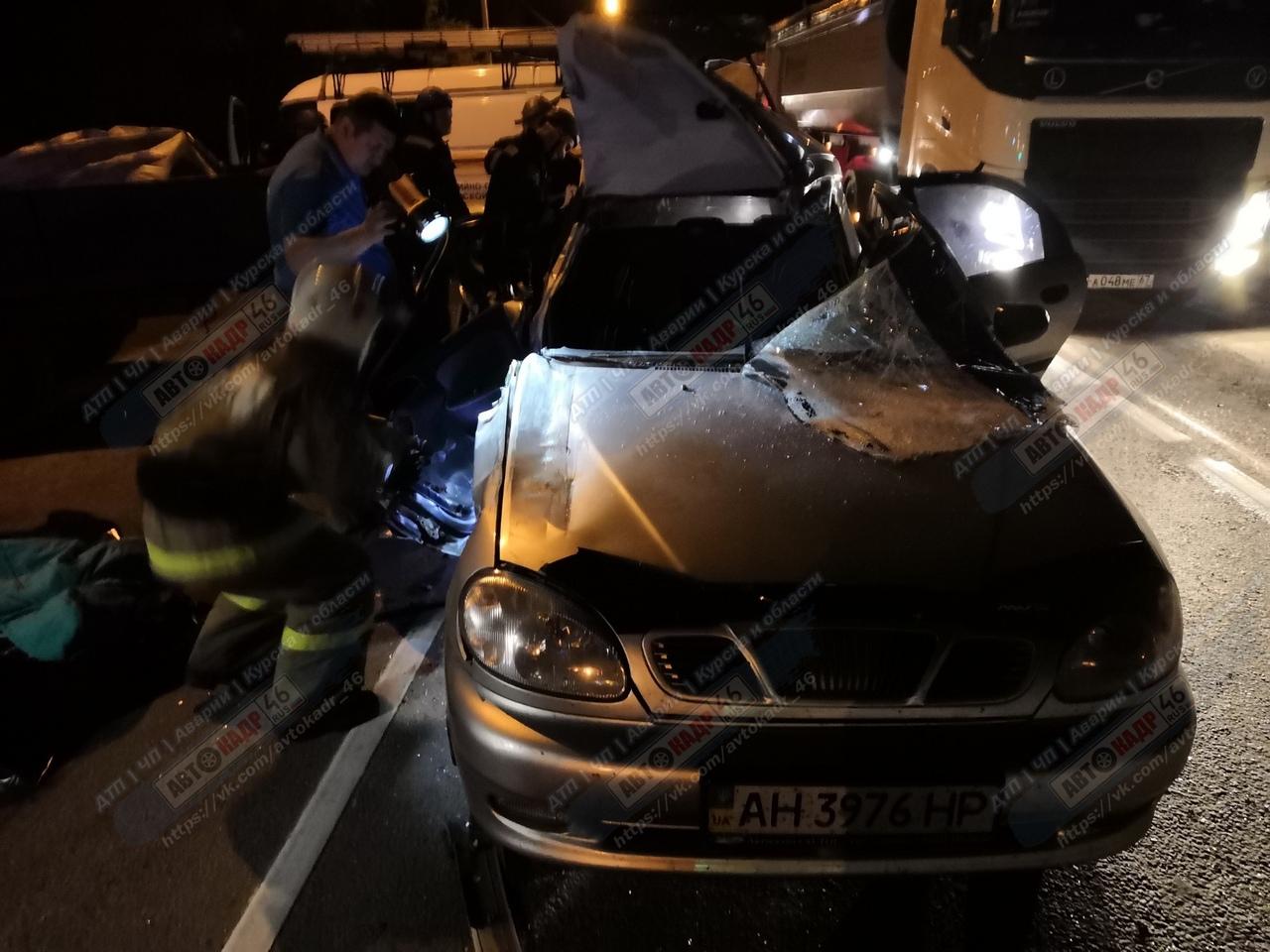 В тройной аварии под Курском погибла женщина