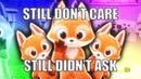 Still don t care still didn t ask