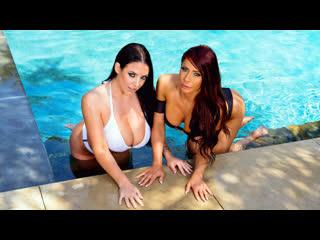 [Brazzers] Madison Ivy, Angela White - Sunbathing Babes NewPorn2019