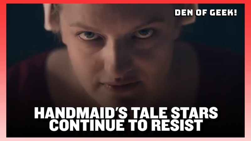 The Handmaid's Tale Season 3 Cast Interview